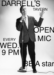 Darrell's Open Mic GUY POSTER #1