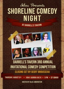 8-6-15  3RD ANNUAL COMEDY COMPETITION