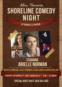 SEPT. 3RD - COMEDY NIGHT