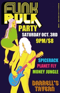 OCT 3RD - FUNK PARTY