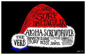 DEC 5TH - SANTA SURF
