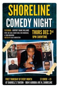 DECEMBER 3RD - COMEDY NIGHT