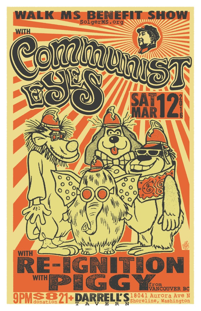 MARCH  12TH -  COMMUNIST EYES