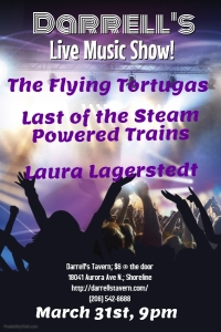 MARCH 31ST - LAURA LAGERSTEDT