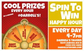 darrells happy hour