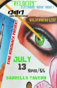 JULY 13TH - VELOCITY$5