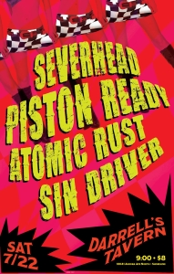 JULY 22ND - ATOMIC RUST