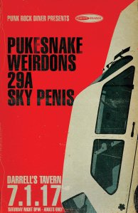 JULY1ST - PUKESNAKE