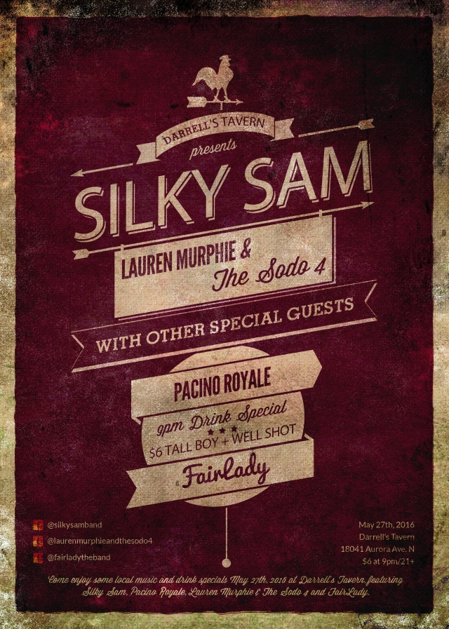 MAY 27TH - SILKY SAM
