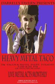 Heavy metal taco copy