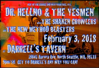 DR. HELLNO & THE YESMEN THE SHAKEN GROWLERS .FINAL